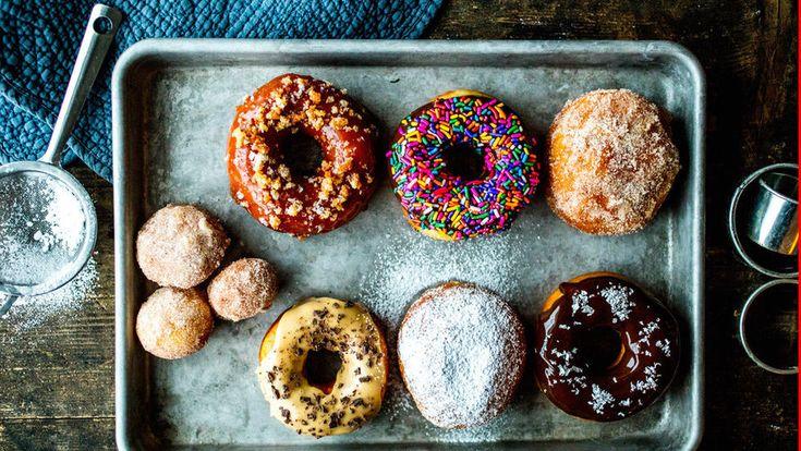 Donuts - grunnoppskrift