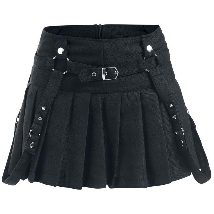 Heartless  Kurzer Rock  »Jonna«   Jetzt bei EMP kaufen   Mehr Gothic  Kurze Röcke  online verfügbar ✓ Unschlagbar günstig!