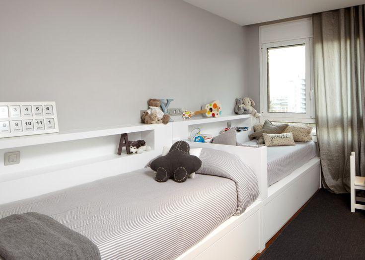 M s de 1000 ideas sobre dise o para la cuna del beb en - Habitaciones infantiles cama nido ...