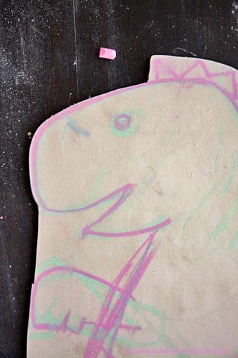 Quandofuoripiove: Pittura lavagna fai-da-te con le istruzioni della Martha (Stewart!)