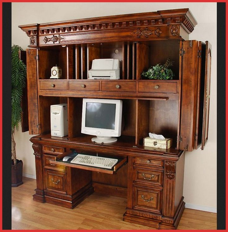 25 best images about armoires on pinterest arts and crafts large computer desk and murphy desk. Black Bedroom Furniture Sets. Home Design Ideas