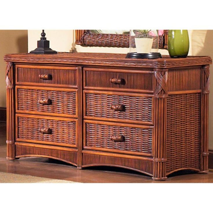 ElanaMar Designs Barbados 6 Drawer Dresser - ELAN026-2