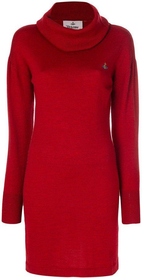 Vivienne Westwood roll neck jumper dress