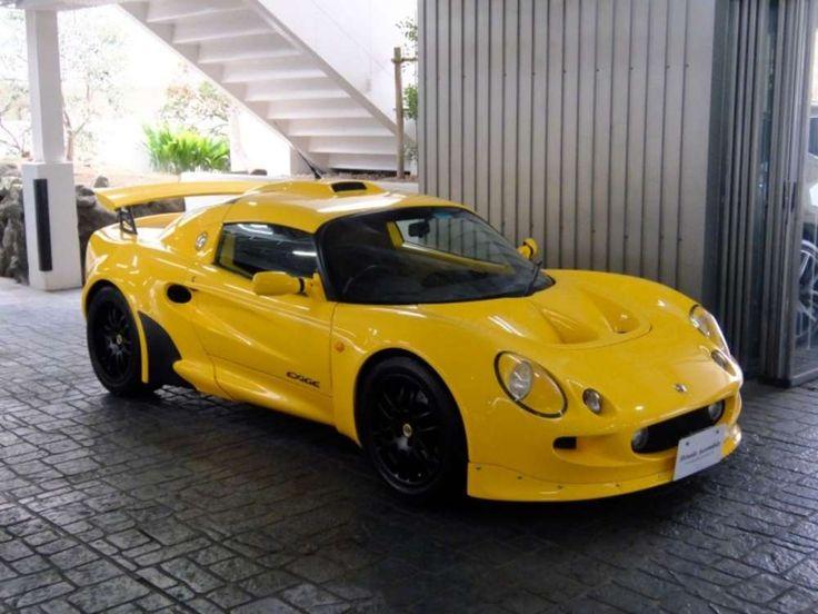 2000 Lotus Exige RHD - Yellow Roadster  Tags: #2000 #Lotus #Exige #RHD #Roadster #Yellow