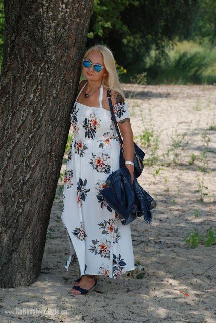 Babooshka Style - Blog modowy: Summer maxi dress