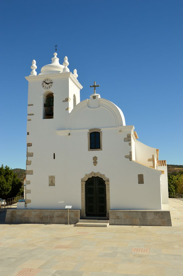 The lovely little church in Querenca