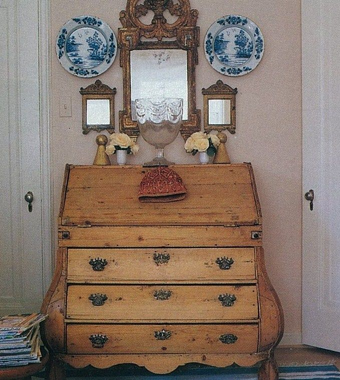 how to decorate my bedroom with pine dresser | Beverly Field bedroom2 HB 0495