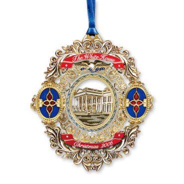 <p>The 2006 White House Christmas ornament honors President Chester A. Arthur. Having served just six months as vice president to James A. Garfield, Arthur assumed the presidency in September 1881 when Garfield succumbed to the wounds inflicted by an assassin's bullet. He brought to the White House a luxurious style that ...