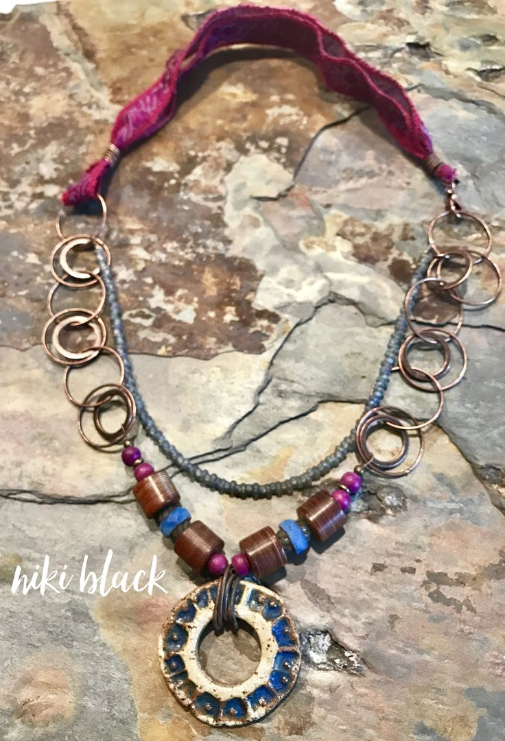 All periwinkle, all the time -just listed at legally-boho-jewelry.com !