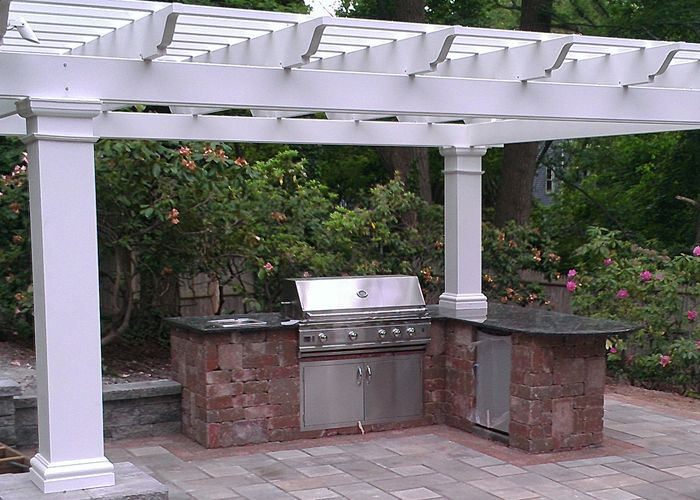 Expand Your Living Space Outside By Installing An Outdoor Kitchen Or Bar  Area For Entertaining Outdoors Photo