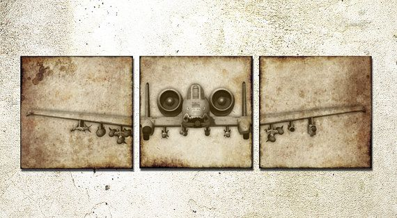 23 best images about aviation art on pinterest boys airplane art and planes - Vintage airplane triptych ...