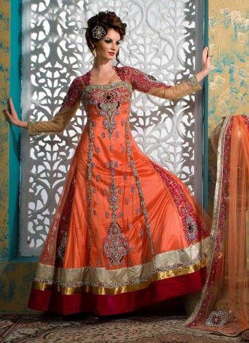 Bridal Wedding Winter Lehengas Designs, Bakra Eid, Barat, Mehndi Dresses 2013-2014 (5)