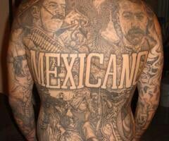 151 best images about latino tattoos on pinterest for Mexican pride tattoos