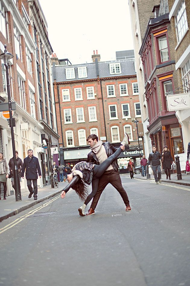 Unique Engagement Shoot: 'Dancers Among Us' StyleBridal Musings Wedding Blog