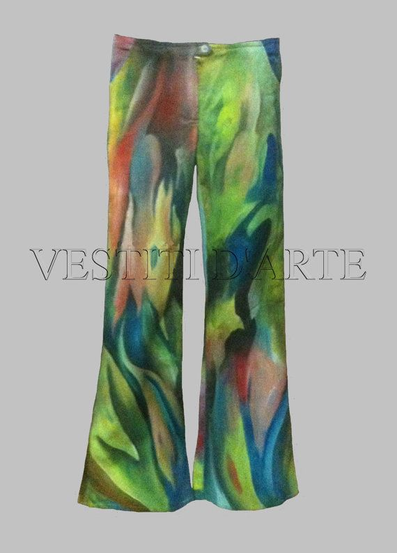 HAND PAINTED JEANS Clothing plus size clothing jeans womens jeans size XXL jeans for men size M or L womens clothing jeans party dresses dresses maxi dresses wide leg low rise jeans.
