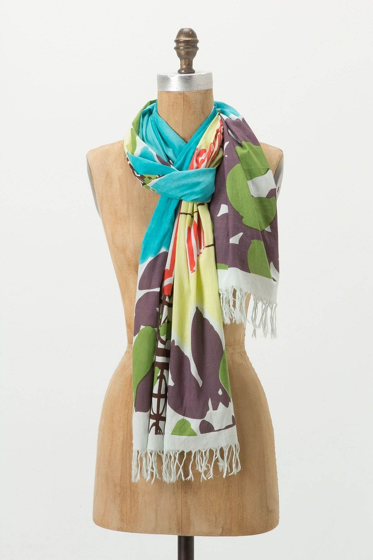 Sunshower Scarf - Anthropologie.com: Stylish Scarves, Fashion Scarves, Pretty Color, Anthropologiecom Pretty, Anthropologie Com, Products, Scarves Galas, Sunshow Scarfs