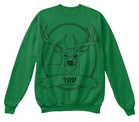 You Kelly Green  T-Shirt Front