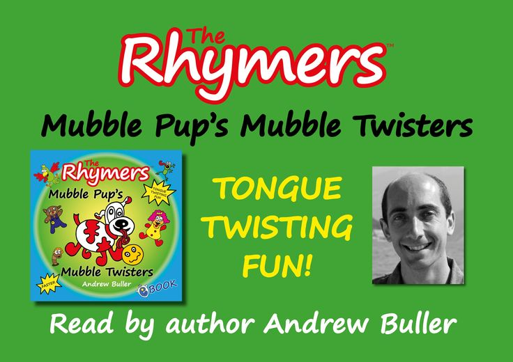 TONGUE TWISTERS - Mubble Pup's Mubble Twisters - by Andrew Buller