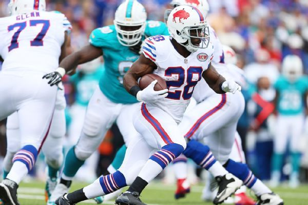 It was just two seasons ago when C.J. Spiller not only was projected to be one of the top running backs in fantasy football, but he also was a consensus first-round pick for most owners heading into 2013.