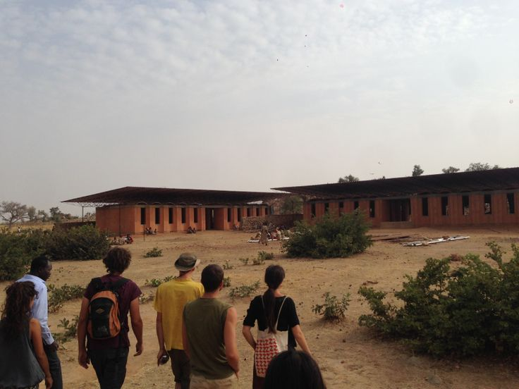 Kèrè's work // the new highschool in Gando