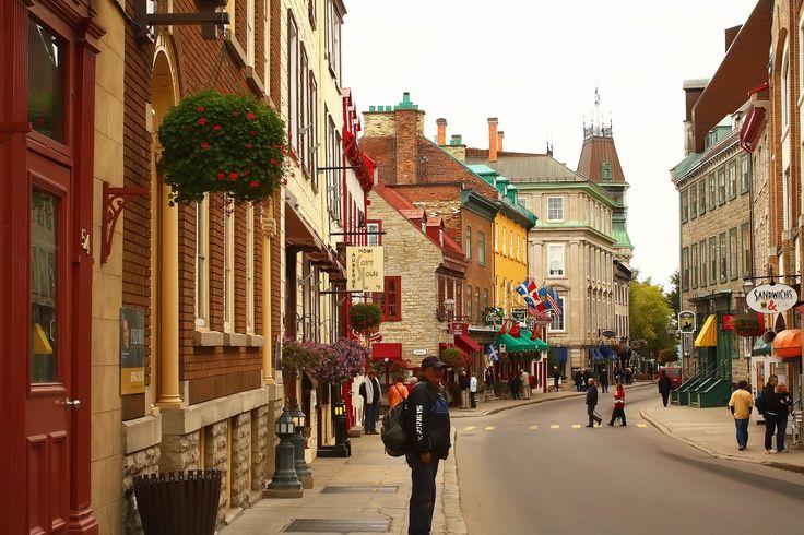 Streets of Quebec City by Yana Bukharova on 500px