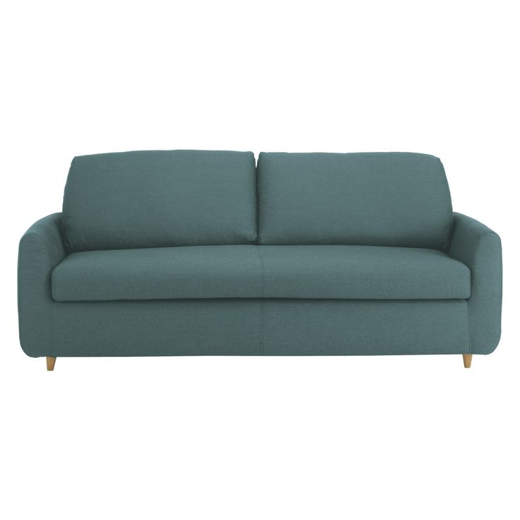 HONOVI Teal blue 3 seater sofa bed | Buy now at Habitat UK