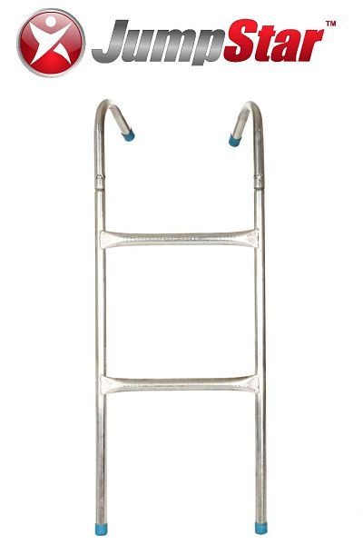 Jump Star Trampolines galvanised steel ladder - it comes free with any trampoline purchased. www.jumpstar.com.au