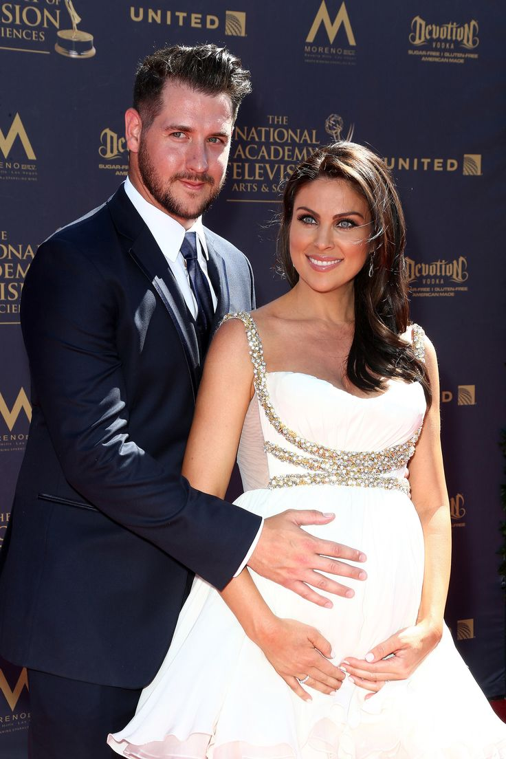 PASADENA, CA - APRIL 30:  Nadia Bjorlin and Grant Turnbull attend the 44th Annual Daytime Emmy Awards at Pasadena Civic Auditorium on April 30, 2017 in Pasadena, California.  (Photo by Tommaso Boddi/WireImage) via @AOL_Lifestyle Read more: https://www.aol.com/article/entertainment/2017/04/30/2017-daytime-emmy-awards-red-carpet-arrivals/22062981/?a_dgi=aolshare_pinterest#fullscreen