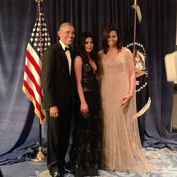 Big Moment! Priyanka Chopra Dines with The Obamas at the Annual White House Correspondents' Dinner | PINKVILLA