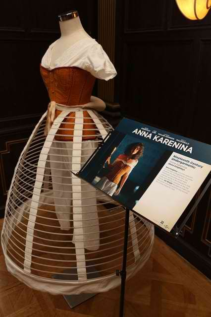''Anna Karenina'' Costume Exhibition Opens Today in London.