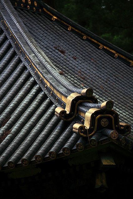 "iseo58: "" Japanese roof details """