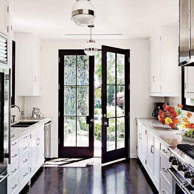 Galley Kitchen With French Doors: Best 25+ 50s Kitchen Ideas On Pinterest