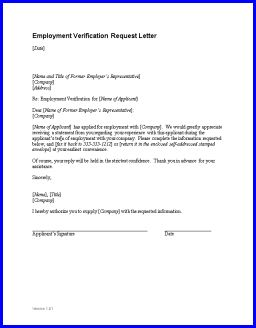 employment verification letter sample employment verification letter confirming a person is employed by a company sample employment letters pinterest