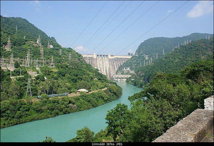 Beautiful & Majestic Bhakra Dam - My childhood home