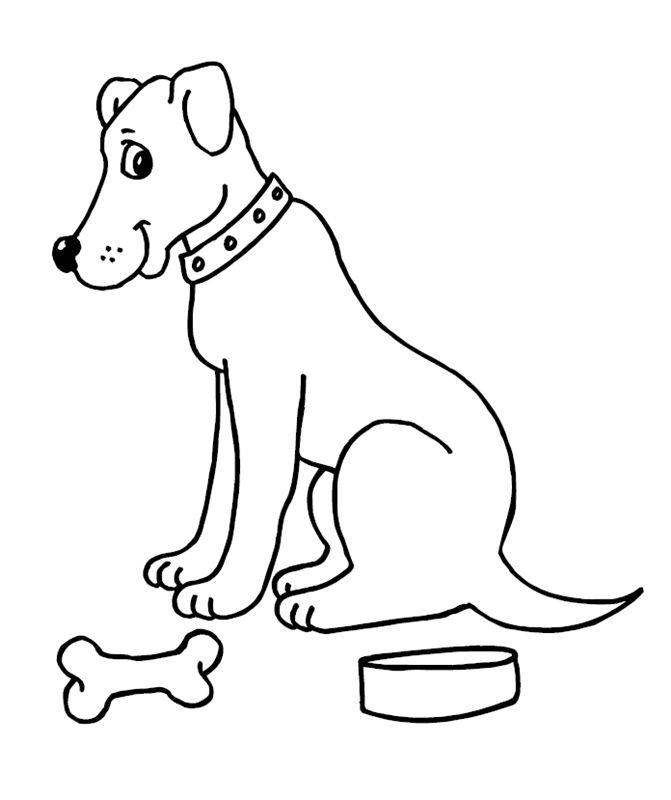 Gratis Malvorlage Hunde_00250 in Hunde, Tiere zum Ausdrucken und Ausmalen.