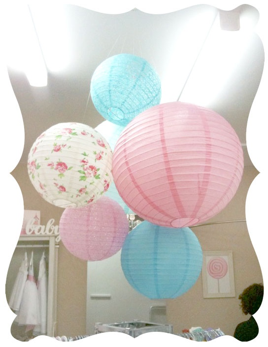 Paper Lanterns available at Bella Rose Boutique from $8.95