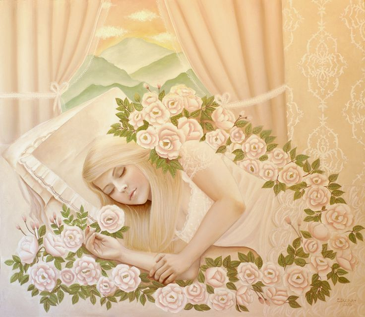 Sleeping beauty, Zuzana Dolinay, http://bit.ly/1rM2Tpv