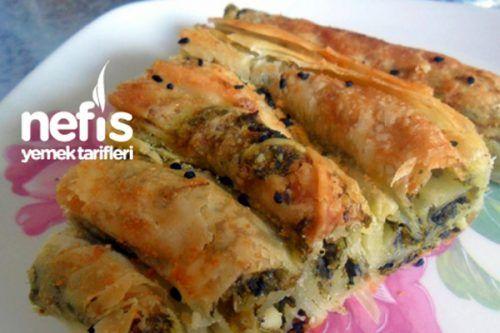 Ispanaklı Kıvrım Börek (El Açması) Tarifi