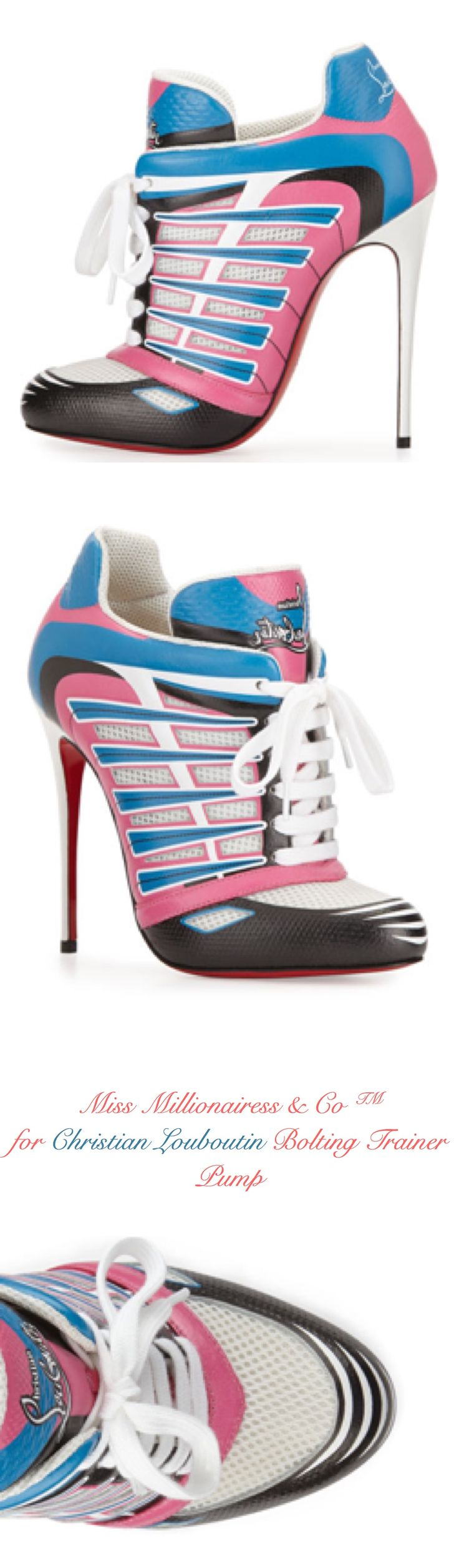 Christian Louboutin ~ Bolting Trainer Pump 2015
