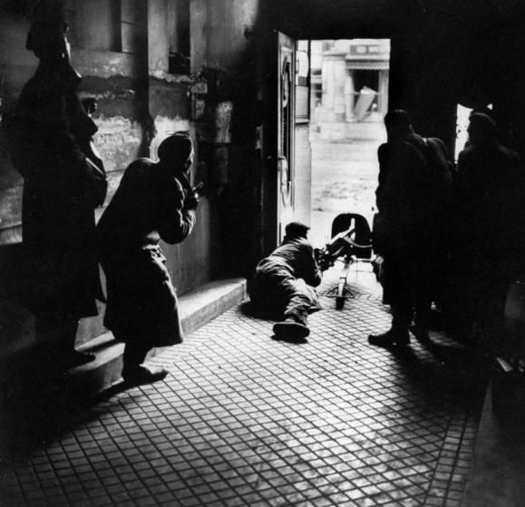 Budapest Hungarian Uprising 1956 by Micheal Rougier