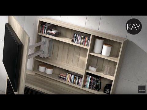 Te mostramos los vídeos de los diferentes muebles