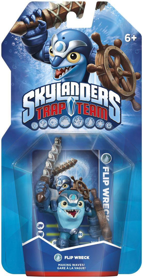 Skylanders Trap Team - Figure - Flip Wreck (Water)