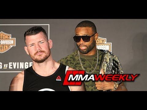"""MMA Tyron Woodley Slams Michael Bisping: """"Is His Knee Severed?"""""""