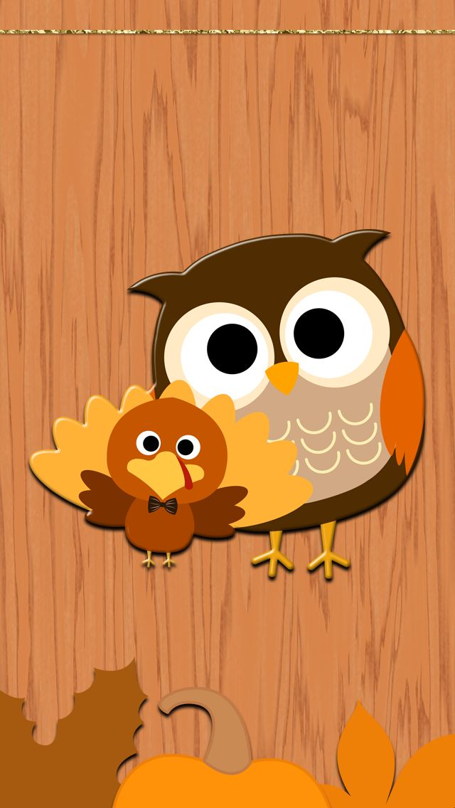 cute owl fall themed wallpapers - photo #19