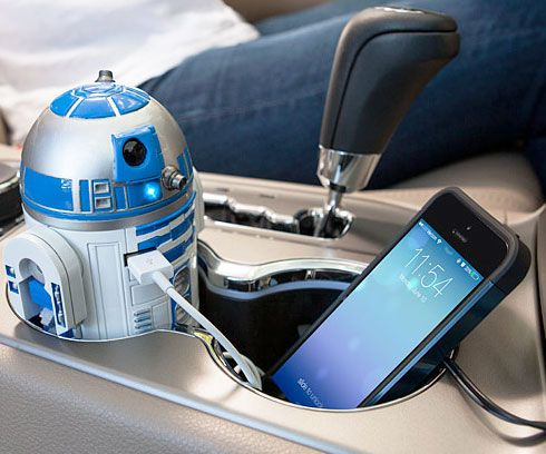 R2-D2 USB Car Charger http://www.thisiswhyimbroke.com/r2-d2-usb-car-charger