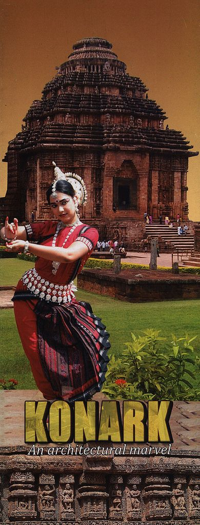 https://flic.kr/p/GFtqfs | Konark, An architectural marvel; 2003, Odisha state, India | tourism travel brochure | by worldtravellib World Travel library
