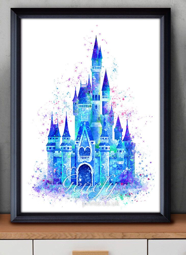 25 best ideas about disney cinderella castle on pinterest for Cinderella castle wall mural