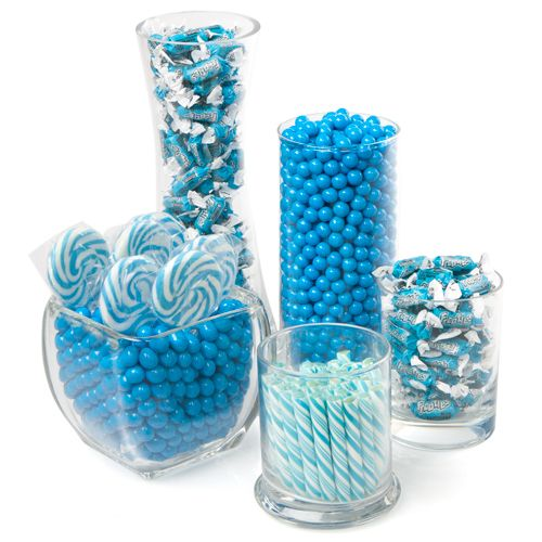 Blue - Candy Kit for Baby Showers $59.99 | Boy Baby Shower Ideas