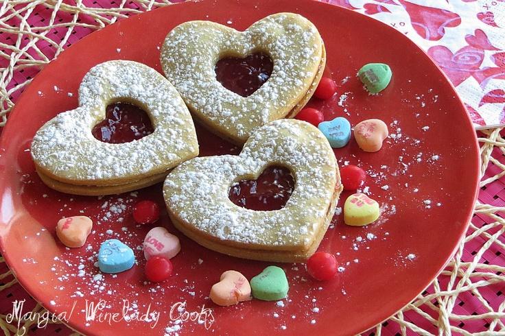 valentine sandwich cookie | Valentine's Day | Pinterest