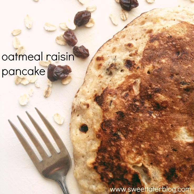 ... .com/2013/04/15/oatmeal-raisin-pancake/   stuff i eat.   Pinterest